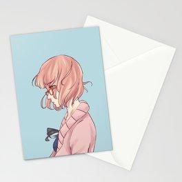 Warrior- Mirai Kuriyama Stationery Cards