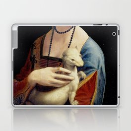 The Lady with an Ermine - Leonardo da Vinci Laptop & iPad Skin