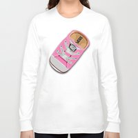 vans Long Sleeve T-shirts featuring Cute pink Vans all star baby shoes apple iPhone 4 4s 5 5s 5c, ipod, ipad, pillow case and tshirt by Three Second