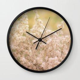 Romantic  Desert Broom Wall Clock