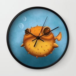 Let's blow up together Wall Clock