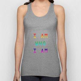 I AM (gay) Unisex Tank Top