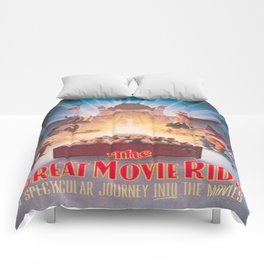 The Great Movie Ride Original Poster Comforters