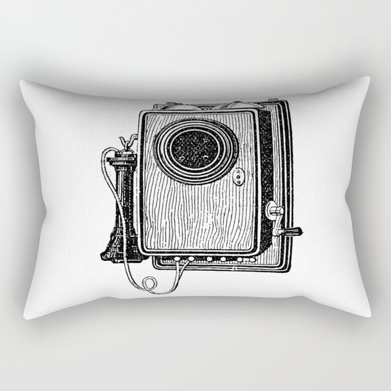 Old telephone 2 Rectangular Pillow