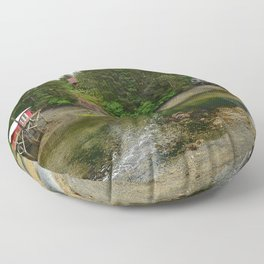 Seldovia Slough - Alaska Floor Pillow