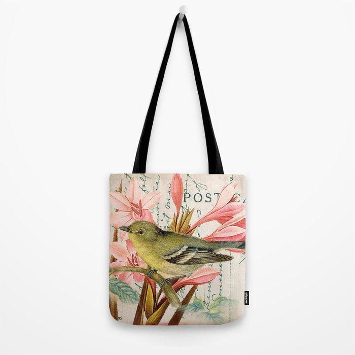 Vintage Flowers #27 Tote Bag