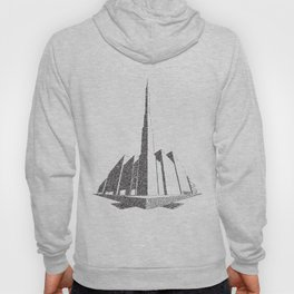 City Block Perspective Stipple Hoody