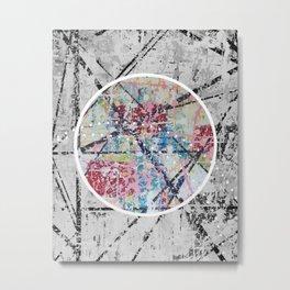 Crossroads No.3 - black and white Metal Print