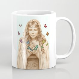 The Butterfly Girl Coffee Mug
