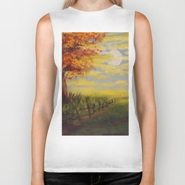 Summer's Sunset Biker Tank