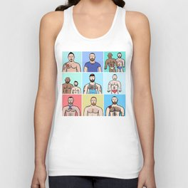 Beard Boy: Boys, Boys, Boys Unisex Tank Top