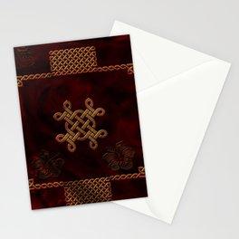 Celtic knote, vintage design Stationery Cards
