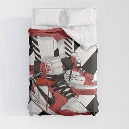 Jordan I Off White Art Comforters