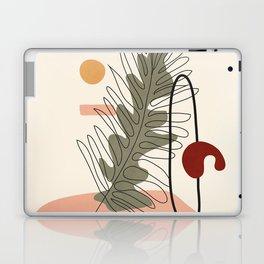 Minimal Line Palm Laptop & iPad Skin
