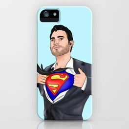 Super Hoechlin iPhone Case