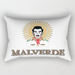 Jesus Malverde - Saint of the Drug Lords Rectangular Pillow