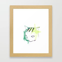 Frustrated Neo Framed Art Print
