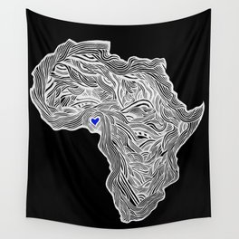 ROOTED (NIGERIA) 1.1 Wall Tapestry
