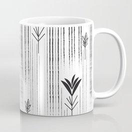 Black & White Siam Tulips Coffee Mug