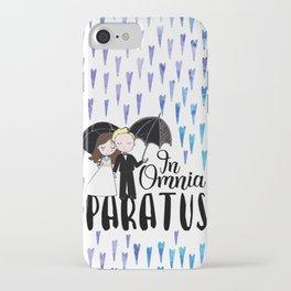 In Omnia Paratus iPhone Case