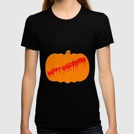 Totaly Evil Halloween Pumpkin T-shirt
