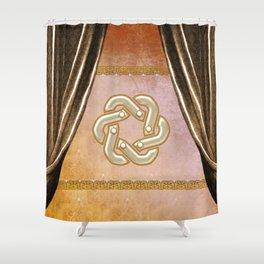Wonderful decorative celtic knot Shower Curtain