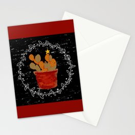 Merry Christmas Cactus Stationery Cards