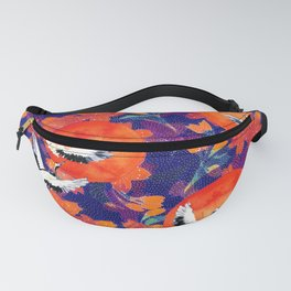 Japanese Garden: Cranes, Sun and Blossoms DK Fanny Pack