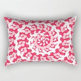 Candy Cane Spiral Rectangular Pillow