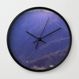 Top of the Rockies Wall Clock