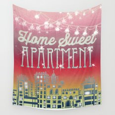 Home Sweet Apartment - Sunset Version Wall Tapestry