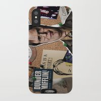 dwight iPhone & iPod Cases featuring Dwight Schrute  by Susan Lewis