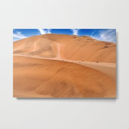 The Namib Desert, Namibia Metal Print