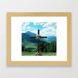 Behold Majestic Beauty and Grace Framed Art Print