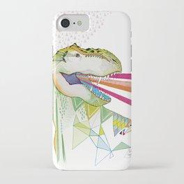 Dinosaur / August iPhone Case