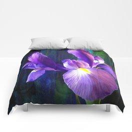Iris - iPhoneography Comforters