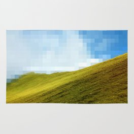 High compression clouds Rug