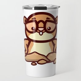 Funny Retro Groundhog Lover Gift design Travel Mug