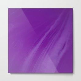 Blurred Violet Wave Trajectory Metal Print