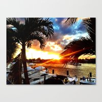 thanksgiving Canvas Prints featuring ThanksGiving by VJames