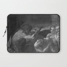 Annibale Carracci - The Baptism of Christ Laptop Sleeve