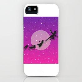 Peter Pan Magical Night iPhone Case