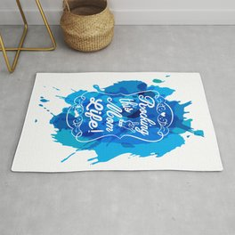 Mother's Love Rockin' this Mom Life Rug
