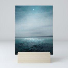 Sea Under Moonlight Mini Art Print