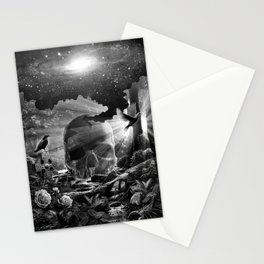 XIII. Death & Rebirth Tarot Card Illustration (Alternative Version) Stationery Cards