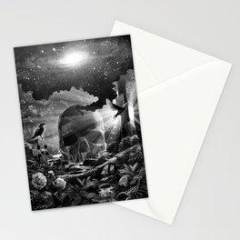 XIII. Death & Rebirth Tarot Card Illustration (Alternative Version) Stationery Cards