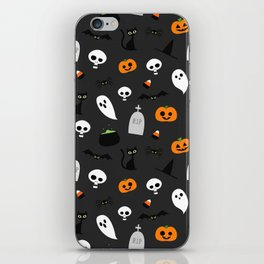 Halloween Pattern iPhone Skin