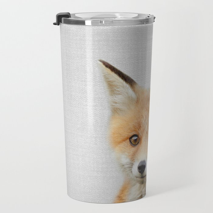 Baby Fox - Colorful Travel Mug
