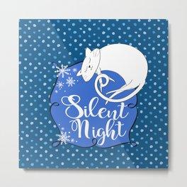 Silent Night Metal Print