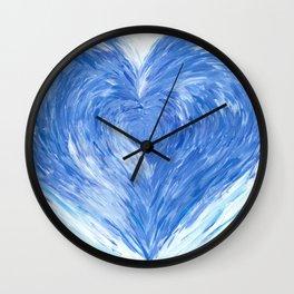 Cold heart Wall Clock